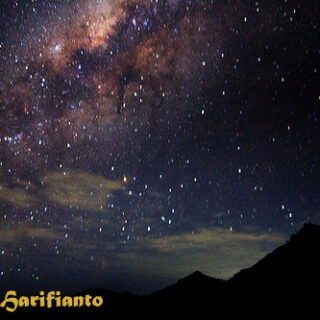 Mount Bromo Milky Way for photography