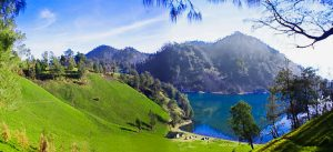 Kumbolo Lake Sunrise, East Java Indonesia