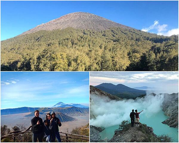 Semeru Trekking, Mount Bromo, Ijen Crater Tour 6 Days