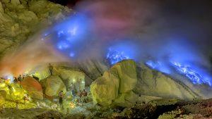 Blue Flame Ijen Crater, Sukamade Beach, Mt Bromo Tour 4 Days