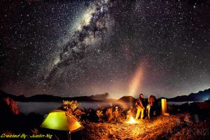 Milky Way Tour by Camping on Mount Bromo