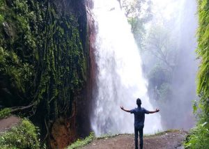 Blawan Waterfall arond Ijen Crater Bondowoso