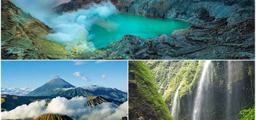 Ijen Volcano, Mt Bromo, Waterfall Tour 3 Days