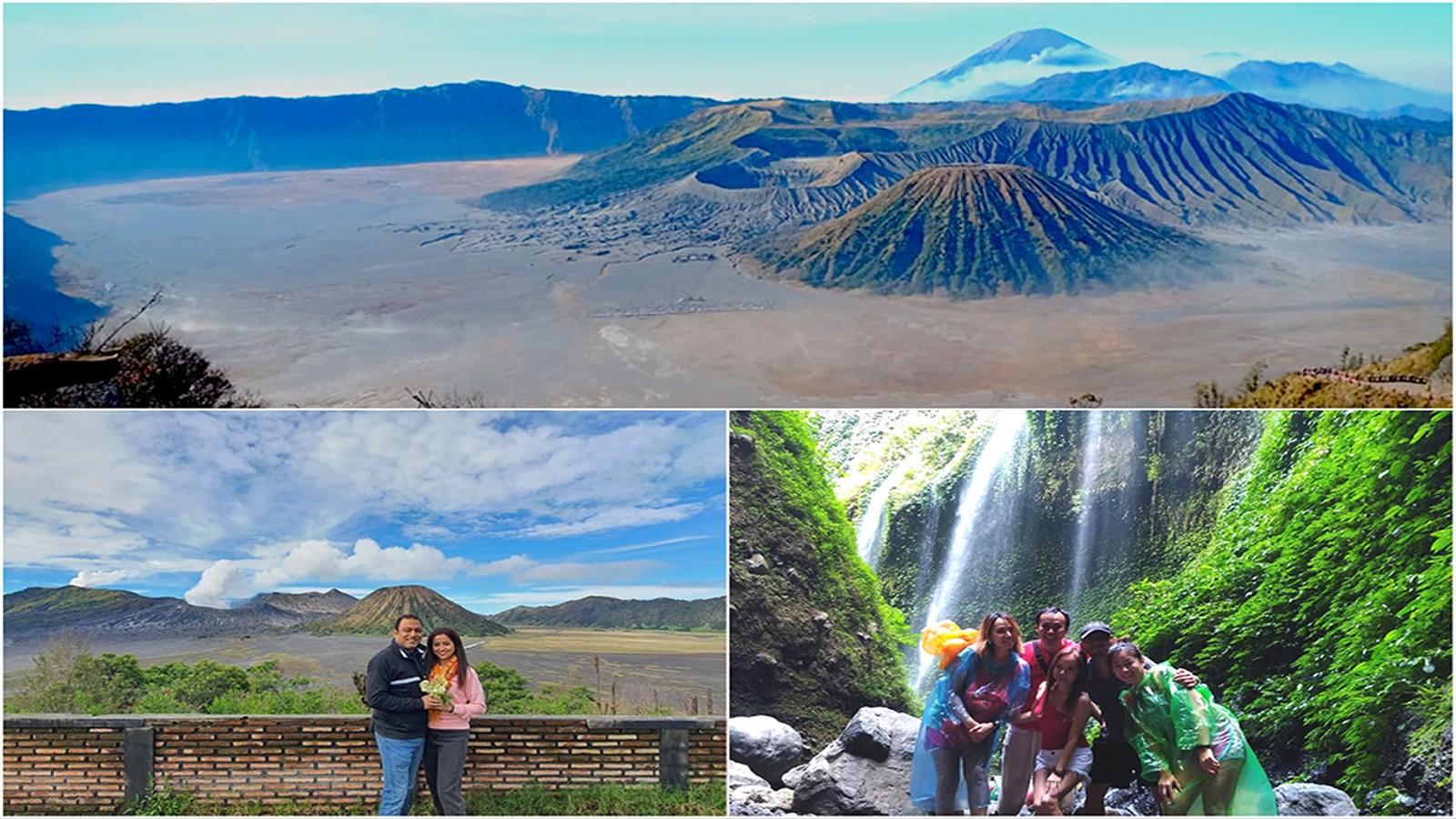 Mt Bromo Midnight, Madakaripura Waterfall Tour 1 Night 1 Day