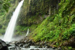 Lider Waterfall in Banyuwangi