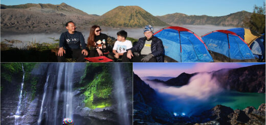 Mount Bromo Camping, Waterfall, Blue Flame Ijen Crater tour 4 days